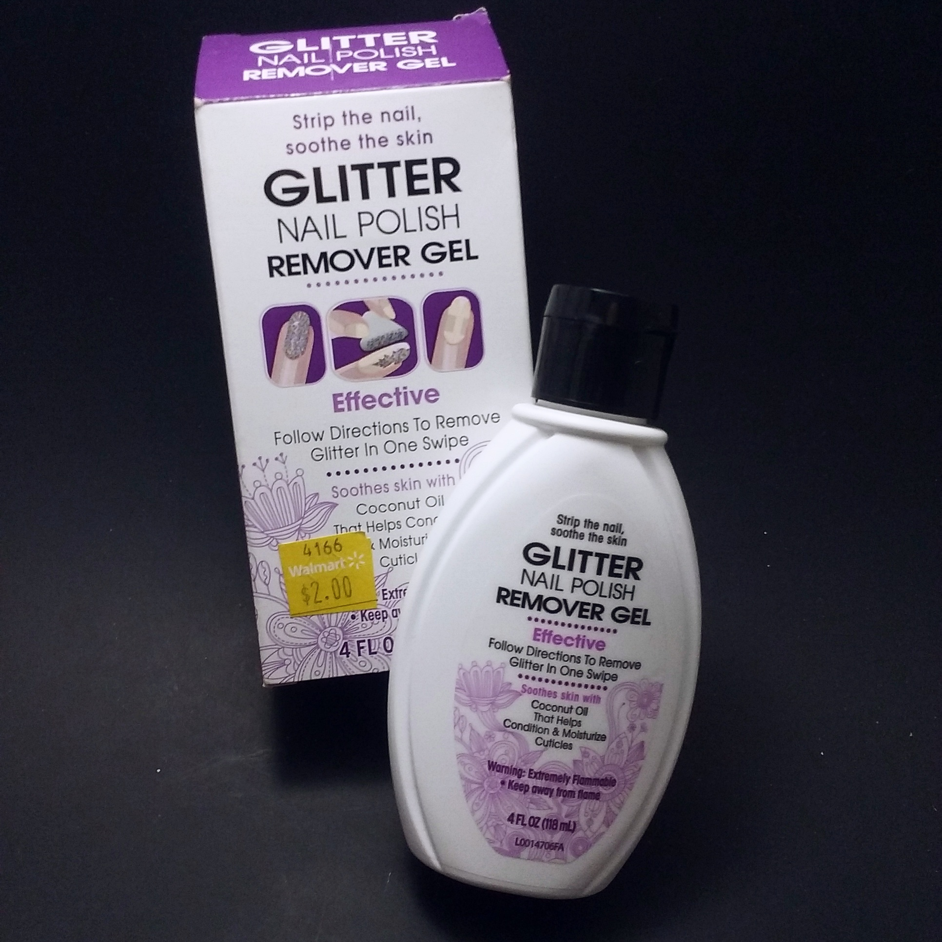 Nail Polish Remover That Works: Glitter Nail Polish Remover Gel Review