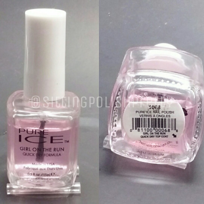 Pure Ice \'Girl On The Run\' Quick Dry Formula Top Coat Review – Nails ...