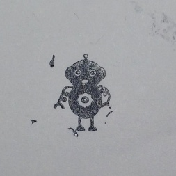 Robot Stamp Image